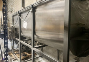 RIBBON MIXER 77 Cft. STAINLESS STEEL 10 HP
