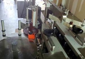 CVC FRONT & BACK LABELER MODEL 400 C