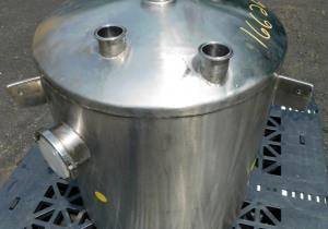 40 gallon stainless steel sanitary supply tank