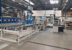 Benteler Machine for Grinding, Polishing, Drilling & Milling