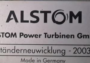 AEG Kanis G 16 - ALSTOM POWER TURBİNEN GmbH