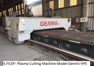 FICEP Plasma cutting Machine