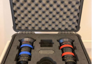 Angenieux Optimo SET, DP 16-42 and 30-80 T2.8 Electronic Cinema Zoom Lenses (PL Mount)