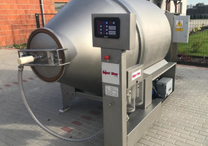 Meat Tumbler With Cooling Coat - Inject Star Magnum 2600