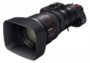 """Canon Cn20X50 Ias H / E1 The """"Cine-Servo"""" Super-Telephoto Zoom Lens Covering Super 35Mm Format With Canon Ef Mount"""