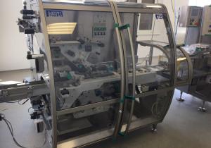 Neri BLB 400 V2T labeller for top and bottom labelling of cartons