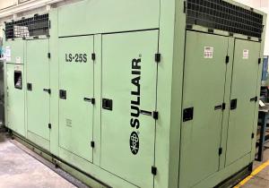 350 Hp Sullair Model Ls-25S-350H/A Screw Type Air Compressor