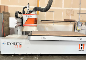 Holzher Model Dynestic 7515 4'X8' Cnc Router New 2014