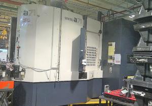 "20"" X 20"" Pallet Makino A71 Cnc 4-Axis Precision Horizontal Machining Center"