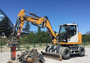 2019 Liebherr A910 Compact Litronic Wheel Excavator