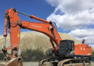 2017 Hitachi Zx890Lch-6 Track Excavator