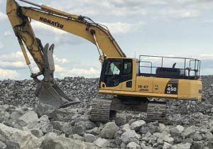 2017 Komatsu Pc450Lc-8 Track Excavator