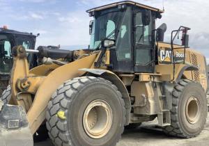 2014 Cat 966M Wheel Loader