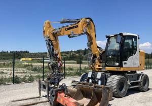 2018 Liebherr A910 Compact Litronic Wheel Excavator