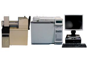 Agilent 6890N GC with HP 7694 (G1290) Headspace Sampler