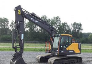 2018 Volvo Ec140El Track Excavator