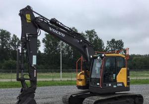 2017 Volvo Ecr145El Track Excavator