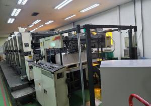 Mitsubishi  Six Color Offset Printing Machine