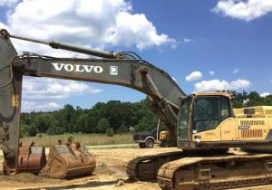 2012 Volvo Ec480Dl Track Excavator