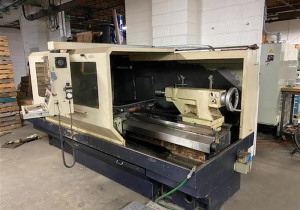 Willis 2680 ENC CNC Flatbed Lathe