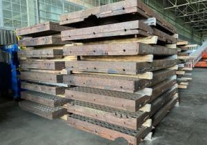 "5' X 10' X 7"" Acorn Welding Table"