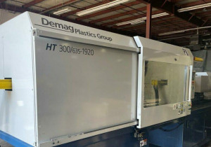 Used 300 Ton Demag 300Ht1920 Injection Molding Machine