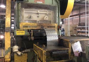 100 Ton Minster P2-100-48 Piece Maker Straight Side Press