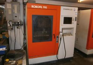 Charmilles ROBOFIL 190 Wire cutting edm machine