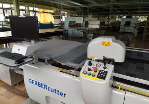 Gerber GTxL Automated cutting machine