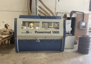Used Weinig Model Powermat 1000 Six Head Moulder