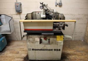 Used Weinig Rondamat 934 Profile Grinder