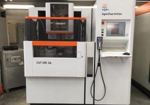 +Gf+ Agiecharmilles CUT 200SP Wire cutting edm machine