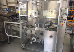 IMA BFB MS300A collator and stretch bander for cartons