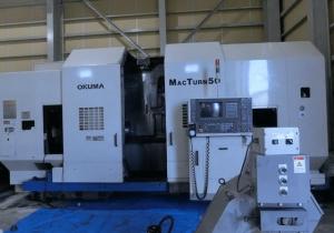 Okuma MAC TURN50 cnc lathe