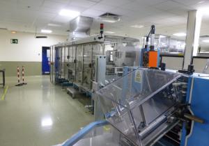 Uhlmann UPS4ET + C100 Blister machine / Complete blister packing line for tablets & capsules