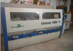 Weinig UNIMAT 1000 STAR Used multihead moulder