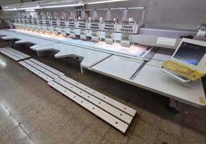 ZSK XCF 1511-400 Multi-head embroidery machine
