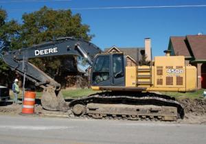 John Deere 2007 450D LC