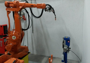 ABB 2400 M2000  WITH TWO IRB250