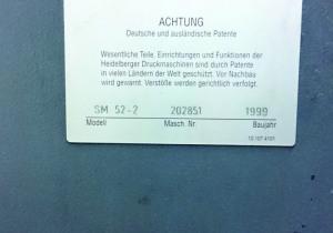 Heidelberg SM 52-2