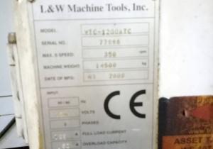 L&L cnc vtl VTC 1200