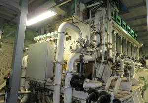 Mitsubishi Diesel Engine 6