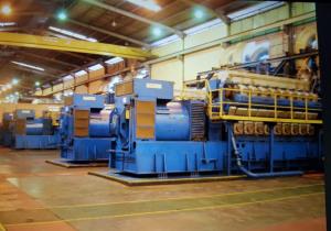 Generator set Wartsila vasa 1