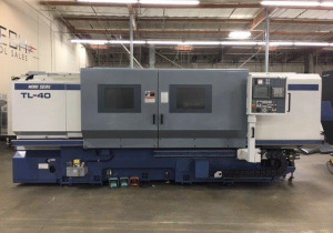 Mori Seiki  TL40B CNC Flatb