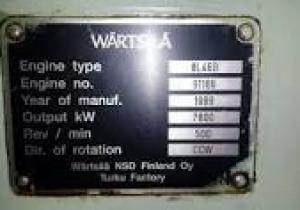 WARTSILA 8L46B