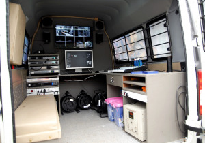 Production Van  blackmagic me1