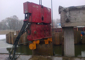 Used clamp for  PVE 2 x 100T