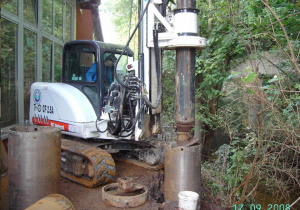 New piling / dr Tescar CF2.5