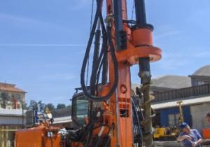 New piling / dr Tescar CF3 CFA