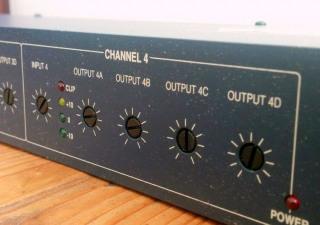 Symetrix 581E 4x4 Audio